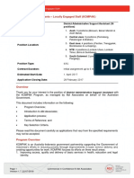 IFA - District Administrative Support