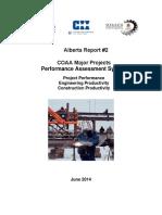 COP-BEN-RES-02-2015-V1 Alberta Report 2 COAA Major Projects Performance Assessment System