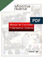 Manual y Normativo Interno
