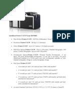 Spesifikasi Printer E
