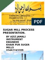 SUGAR  MILLS PRESENTION  , BY AZIZ JAMALI TALHAR