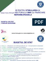 Oportunitati de Finantare 2017