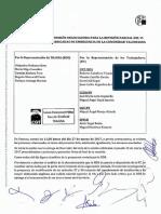 Acta 2 Comisión Negociadora revisión parcial VI Convenio Colectivo