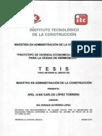 TESIS Viv Sustentable MEXICO