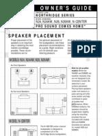 Manual Caixas JBL N24
