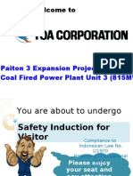 Safety Induction for Visitor (English)