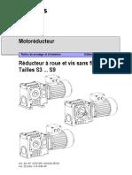 Notice Montage Roue Et Vis Sans Fin