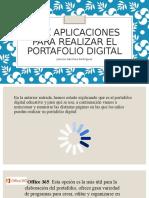 Herramientas para la realización del Portafolio Digital