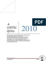 Coptic Quill Third Edition