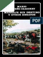 Mensaje Sin Destino y Otros Ensayos de Mario Briceño-Iragorry CL126