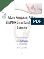 Sistem Manajemen Dokumen Akreditasi (SISMADAK)-Materi Pelatihan 28 Nop 2016