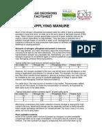 Manure Factsheet 2