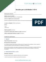 Desgravaciones fiscales por actividades I+D+i