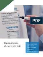 Manual para el cierre fiscal-contable