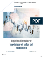Objetivo financiero
