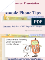 Mobile Phone Tips