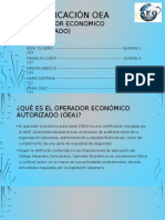 CERTIFICACION OEA-1
