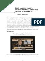 Communicating Crisis and Global Governance