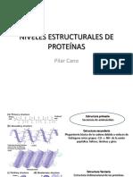 Tema-2-Niveles Estructurales de Proteínas