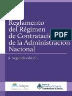 Reglamento del Régimen de Contrataciones de la Administración Nacional comentado