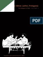 Plato - Ion, Hippias Minor, Laches & Protagoras (Yale, 1996).pdf