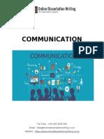 Sample on Communication