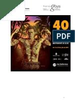 40 Festival Internacional de Cine Independiente de Elche. Bases. Del 14 al 21 de julio de 2017