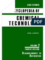 Encyclopedia of Chemical Technology [Vol 02]