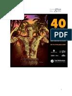 40 FICIE. Normas de Pago Premios. Del 14 al 21 de julio de 2017
