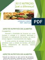 Alimentação e Nutrição