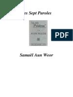 Les Sept Paroles-Samael Aun Weor