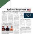 April 12 - 18, 2017  Sports Reporter