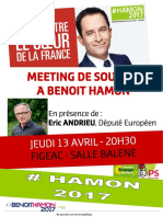 13 Avril - Affiche Meeting Figeac - Andrieu