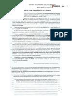 Ficha de Funcionamento Da Língua- 12º Ano Domínios Gramática