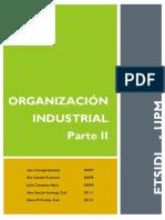 TRABAJO Organización Industrial II (1)