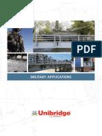 Unibridge Military Applications Brochure