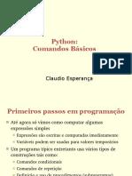 Python - Comandos Básicos - Claudio Esperança.pdf