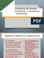 3.APLICACIÓN DE LA TERAPIA COGNITIVA CONDUCTUAL EN EL TRATAMIENTO DE LA DROGODEPENDENCIA.ppt