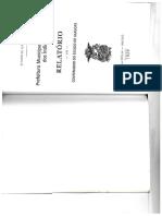 I Relatório Da Prefeitura de Palmeira Dos Índios