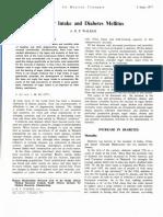 1.8 Review Article.sugar Intake and Diabetes Mellitus, A.r.p.walker Switzerland and Germany Low Sugar High Beetus