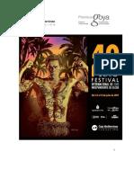40th Elche International Independent Film Festival. FAQ. User Registration. July 14-21, 2017
