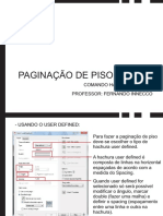 Paginação Piso