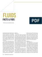 Fluids Facts and Fads BURKE ASPETAR