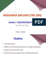 Kuliah 7. Discontinuities