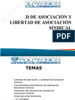 Libertad de Asociación y Libertad de Asociación Sindical