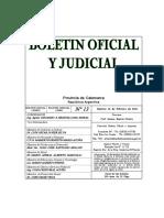 BOLETIN OFICIAL N° 13-2011 - PRECIO DE HOJAS DE RUTA PARA TRANP. MINERAL