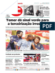 Edição Jornal - Balanço 2015 - 2016