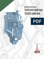 Manual Uso Deutz Tcd2013 2v