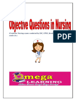 Objective Questions for Nursing