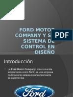 Ford Motor Company y Su Sistema de Contr